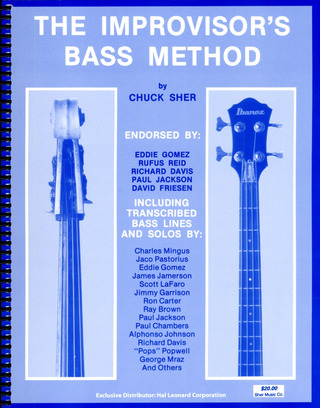 Sher, Chuck: The Improviser's Bass Method