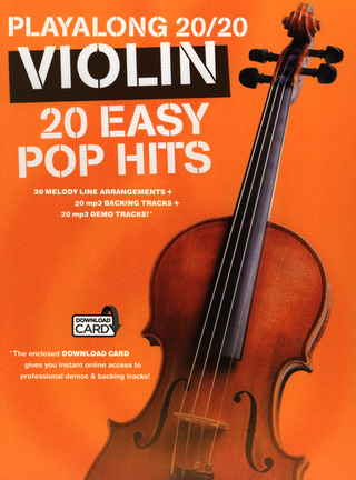 Playalong 20/20 Violin: 20 Easy Pop Hits