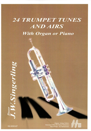 24 Trumpet Tunes and Airs with Organ or Piano