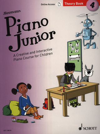 Hans-Günter Heumann: Piano Junior: Theory Book 4