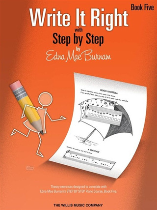 Edna Mae Burnam: Edna Mae Burnam: Write It Right With Step By Step - Book 5