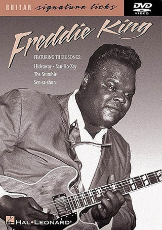 King Freddie: Freddie King Guitar Signature Licks Dvd
