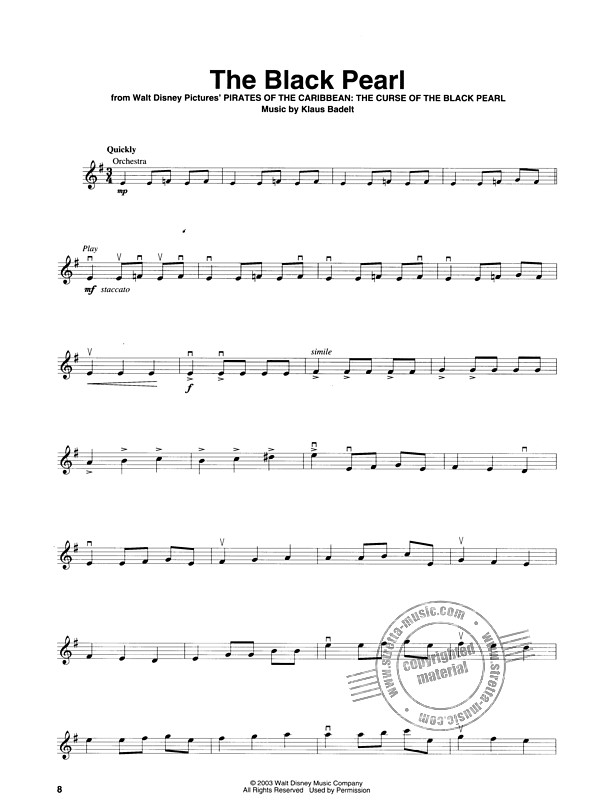 Violin Play-Along Volume 23: Pirates Of The Caribbean (Book