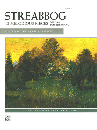 Jean Louis Streabbog: 12 melodious op.63