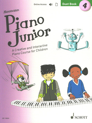 Piano Junior: Duet Book 4