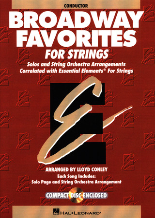Broadway Favorites for Strings - Conductor
