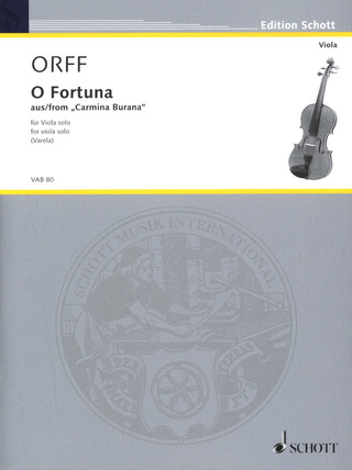 Carl Orff: O Fortuna