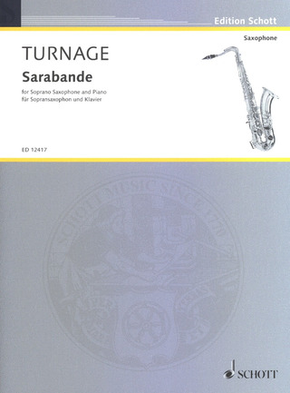 Mark-Anthony Turnage: Sarabande