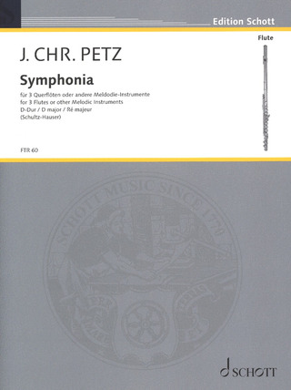 Johann Christoph Pez: Symphonia D major