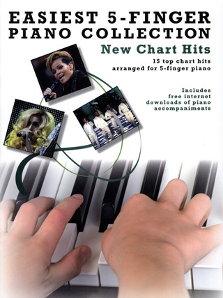 Easiest 5-Finger Piano Collection: New Chart Hits