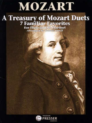 Wolfgang Amadeus Mozart: A Treasury Of Mozart Duets