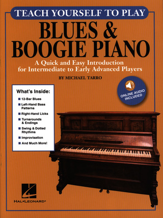 Michael Tarro: Teach Yourself To Play Blues & Boogie Piano