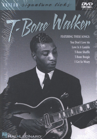 T.-Bone Walker: T-Bone Walker Guitar Signature Licks Dvd