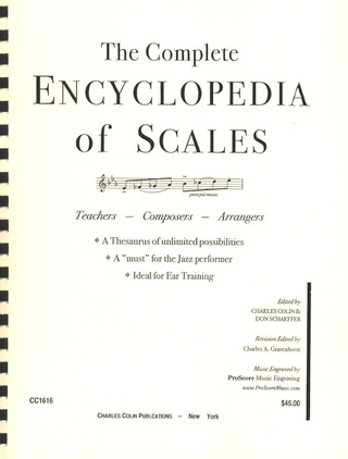 COLIN CHARLES: THE COMPLETE ENCYCLOPEDIA OF SCALES