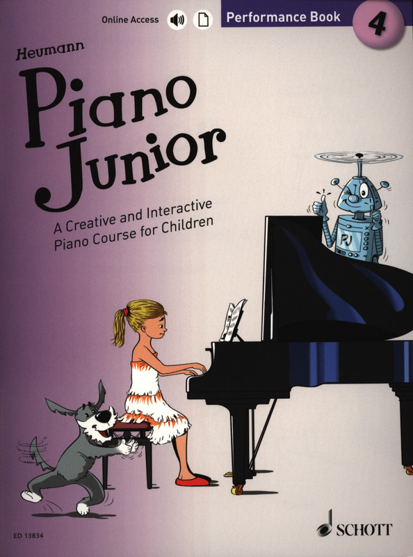 Piano Junior: Performance Book 4