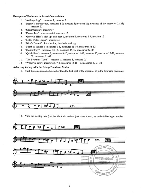 David Nathaniel Baker Jr.: How To Play Bebop 1 (2)