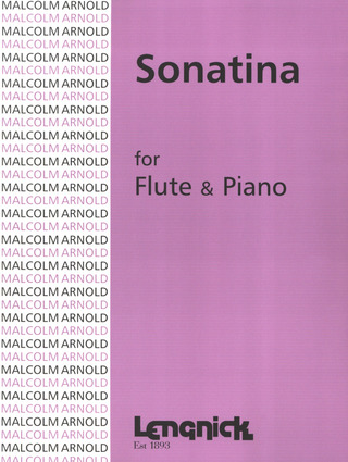 Malcolm Arnold: Sonatina Op 19
