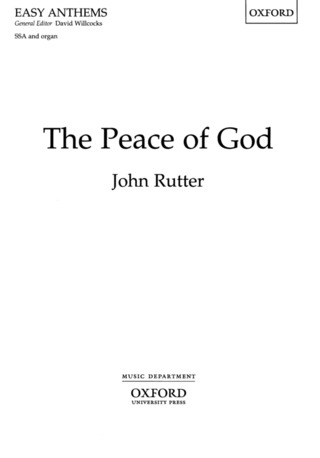 John Rutter: The Peace of God
