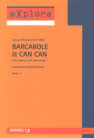 Jacques Offenbach: Barcarole & Can Can