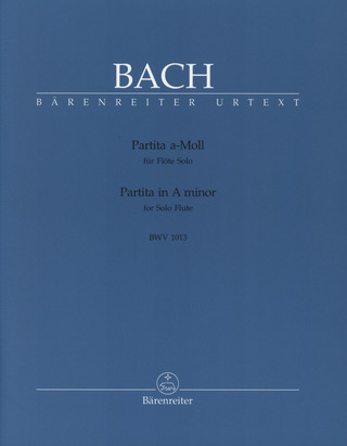 Johann Sebastian Bach: Partita in A minor BWV 1013