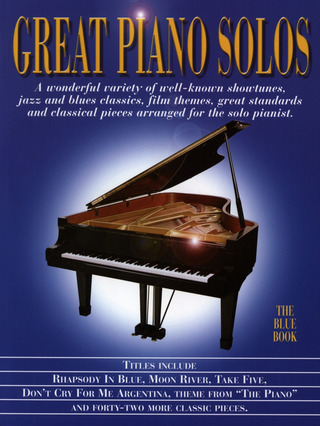 Great Piano Solos – The Blue Book