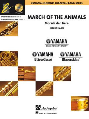Jan de Haan: March of the animals – Marsch der Tiere