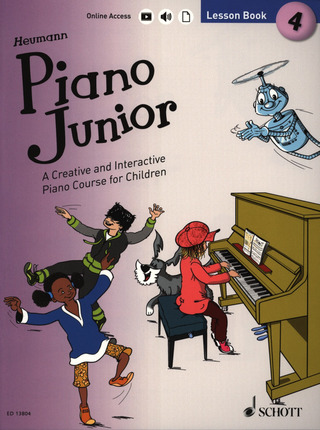 Piano Junior: Lesson Book 4