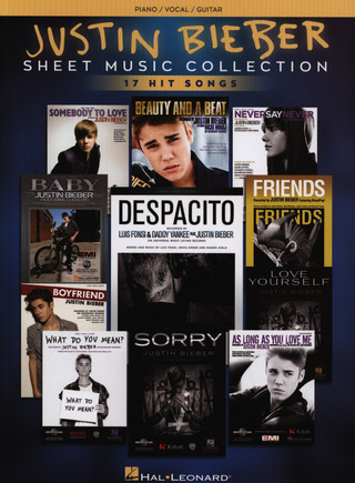 Justin Bieber: Sheet Music Collection