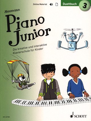 Hans-Günter Heumann: Piano Junior: Duettbuch 3