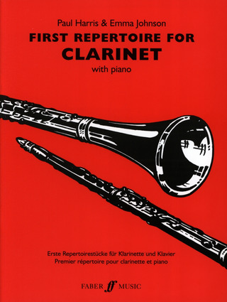 Paul Harris y otros.: First repertoire for clarinet with piano