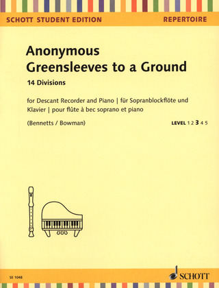 Anonymus: Greensleeves to a Ground