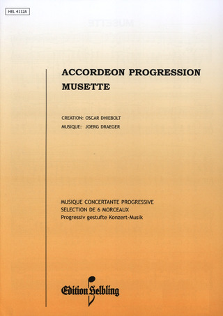 Jörg Draeger: Musette - Accordeon Progression 2