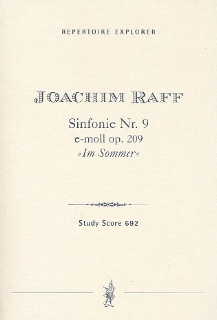Joachim Raff: Symphony No. 9 in E minor op. 208