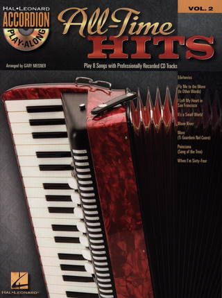 Accordion Play-Along Volume 2: All-Time Hits
