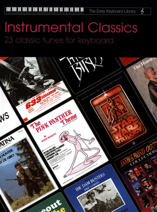 Easy Keyboard Library: Instrumental Classics Kbd Book