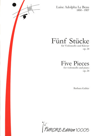 Luise Adolpha Le Beau: Five pieces op. 24
