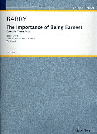 Barry Gerald: The Importance of Being Earnest (2009-2010)