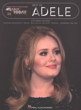 Adele Adkins: E-Z Play Today 38: Best Of Adele