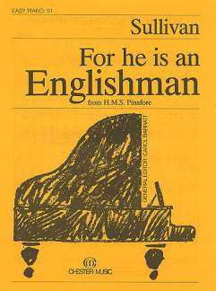 Arthur Seymour Sullivan: Ep 51 Sullivan For He Is An Englishmas From Hms Pinafore Pf