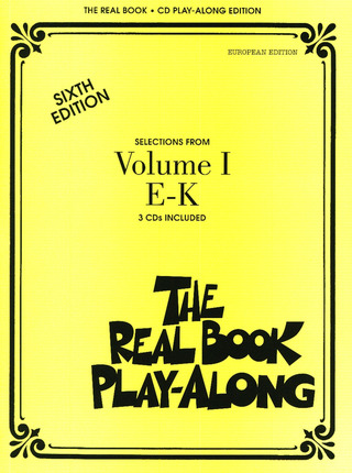 The Real Book Playalong 1 (E-K)