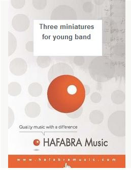 Roland Smeets: Three miniatures for young band