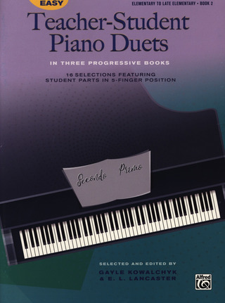 Easy Teacher-Student Piano Duets 2