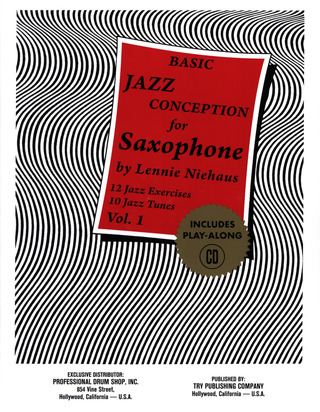 Lennie Niehaus: Basic Jazz Conception 1