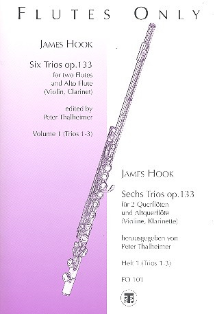James Hook: Sechs Trios 1 op. 133