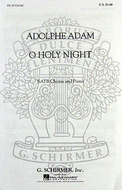 Adolphe Adam: Adam, A O Holy Night Satb/Pf (Oc10018)
