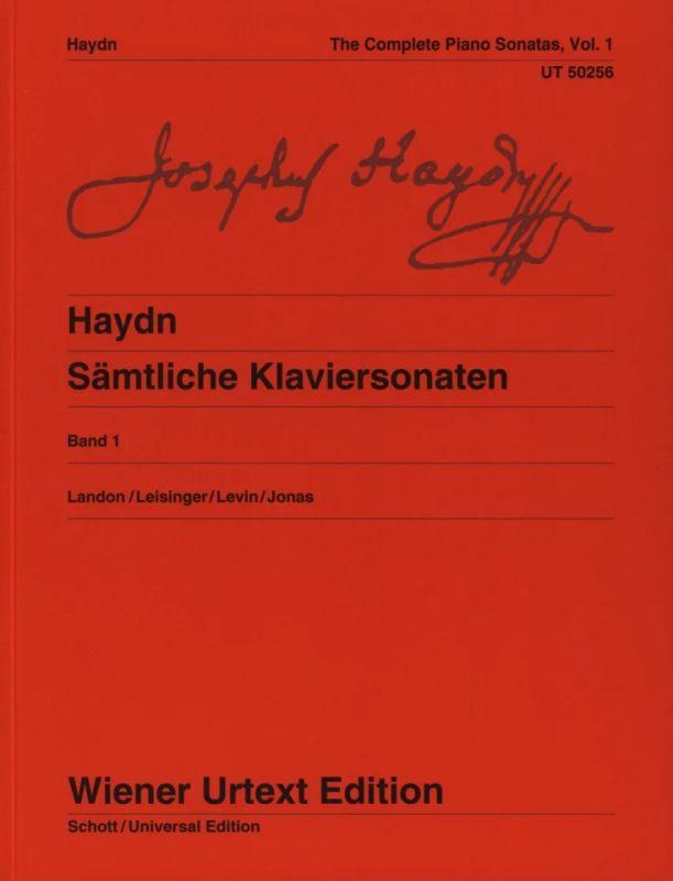 Piano Intégrale de Sonates Volume 1