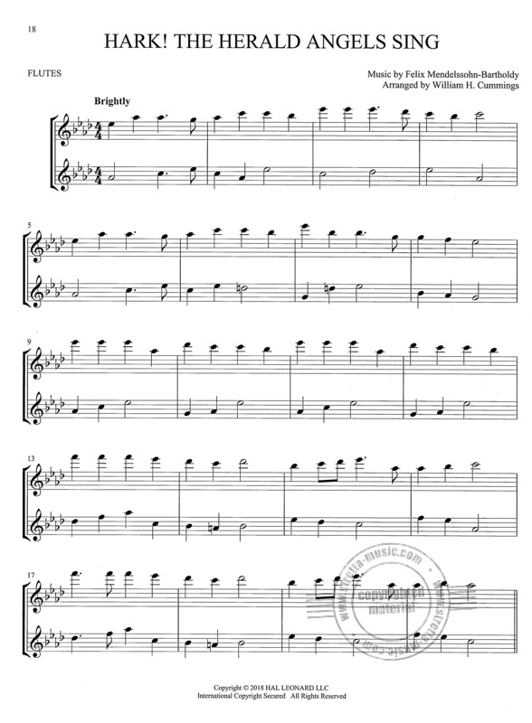 Christmas Carols for Two Flutes (2)