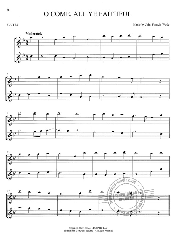 Christmas Carols for Two Flutes (3)