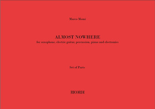 Marco Momi: Almost nowhere