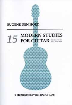 Hoed Eugene Den: 15 Modern Studies For Guitar